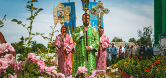 ПОСЕЩЕНИЕ ПРЕСТОЛЬНОГО ПРАЗДНИКА ХРАМА В МОГИЛЕВСКОЙ ОБЛАСТИ